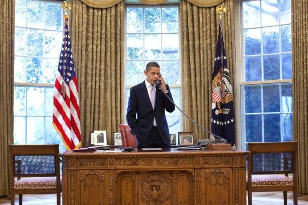 Barack Obama está agora pronto para mais 4 anos de mandato.(Fotografia da página oficial do presidente norte-americano: http://www.facebook.com/barackobama)