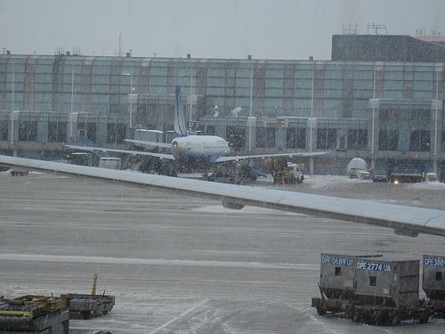 Vista para o aeroporto de Chicago onde se passou a macabra polémica.(Foto de Ricardo Rodrigues, http://www.flickr.com/photos/ricrodrigues/3135077744/)