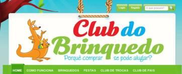 Página oficial do Club do Brinquedo