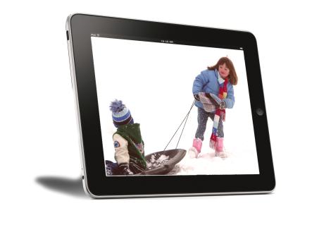 Se forem usados pouco tempo e com acompanhamento os tablets desenvolvem as crianças(Fotografia do morguefile, por  3rdworldman)