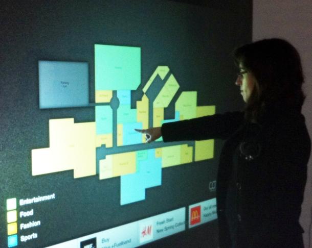 Novo sistema transforma ecrãs em 'touchscreen'(Fonte:http://www.covii.pt )