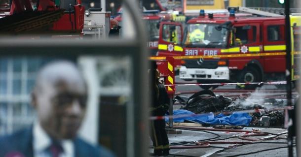 Acidente de aviação em Londres causou duas vitimas mortais