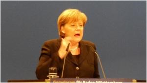 Angela Merkel falou sobre a situação do Reino Unido numa conferência no Chile(Fonte: flickr.com por marcel_rulz)