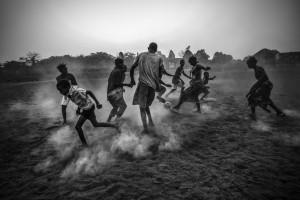 Futebol Africano na Guiné Bissau (fonte:http://www.worldpressphoto.org por Daniel Rodrigues)