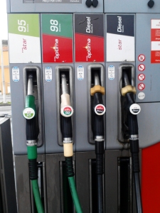 Desde o início do ano, o preço dos combustíveis subiu cinco vezes.foto de Andreia Rodrigues