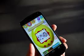 Novo Tamagotchi em aplicativo Android(fonte: www.wired.com)