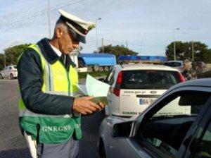 Cerca de 3500 pessoas foram multadas e detidas pela GNR durante este fim de semana(Fonte:diariodigital.blogspot.com)