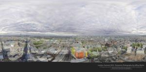 Cidade de Londres vista a 360º.(fonte: http://www.cabecadecuia.com/)