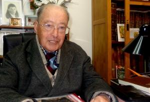 O padre Xavier Félix é de Viseu mas está nesta paróquia há 35 anos