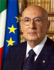 Giorgio Napolitano termina o mandato em maio mas está contra novas eleições (Fotografia da página oficial do facebook)