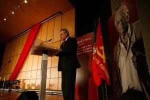 Jerónimo de Sousa estará hoje no comício comemorativo dos 92 anos do PCP.(foto: http://www.pcp.pt/fotografias)