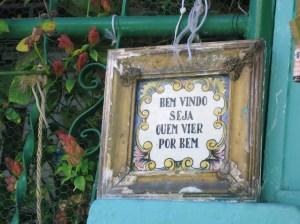 Boas vindas- r.Lima