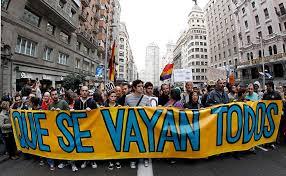 Mais de 300 mil pessoas saíram à rua em Espanha(Fotografia de: 5dias.net)