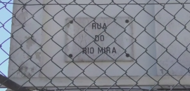 placa rua rio mira