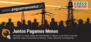 O objetivo é baixar as despesas na conta da luz dos portugueses