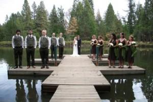 Os casamentos sustentáveis têm conseguido cada vez mais seguidores.(Fotografia de: onossocasamento.pt)