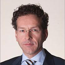 Presidente do Eurogrupo e Ministro holandês das Finanças (Fonte: www.government.nl)
