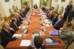 Reunião durou 7 horas (Fotografia de: www.presidencia.pt)