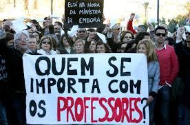 Greve vai prejudicar alunoos do 12º ano (Fotografia de: www.acessenoticias.com.br)