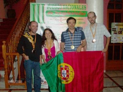 JOGOS DE TRANSPLANTADOS EM ESPANHA 2008