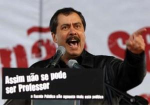 Mário Nogueira diz que os professores vão continuar a lutar (Fotografia de: fiel-inimigo.blogspot.com)