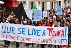 O protesto vai acontecer este sábado em 102 cidades europeias (Fotografia de: www.sulinformacao.pt)